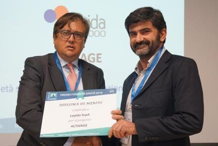 ACTIVAGE awarded at the Public Administration Forum