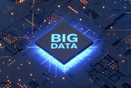 Big Data - Immagine astratta